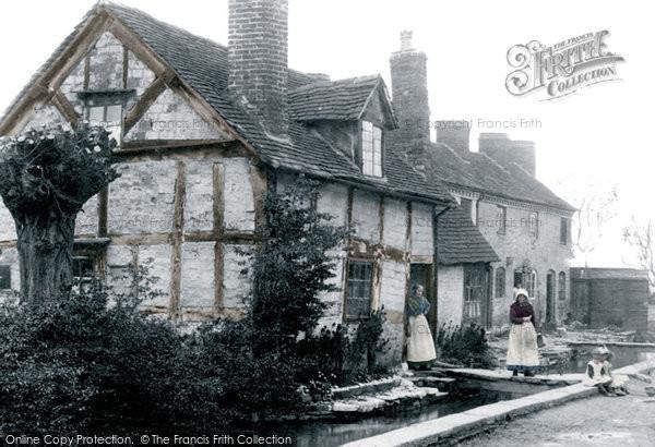 Photo of Leominster, Vicarage Street 1906