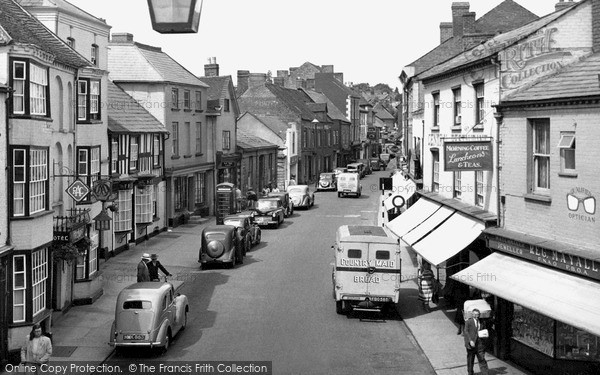 Photo of Leominster, West Street c.1955