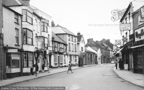 Photo of Leominster, West Street c.1965