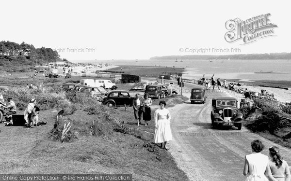 Photo of Lepe, the Beach c1955