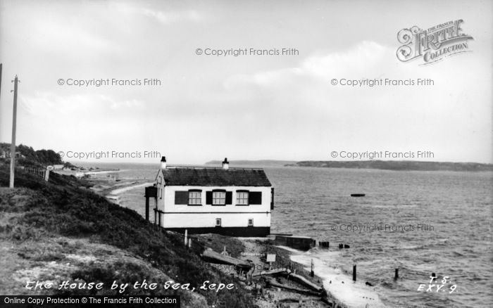 Photo of Lepe, The House By The Sea c.1955