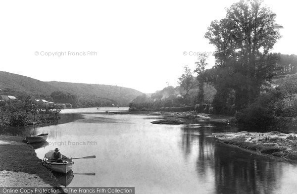 Photo of Lerryn, From The Bridge 1893