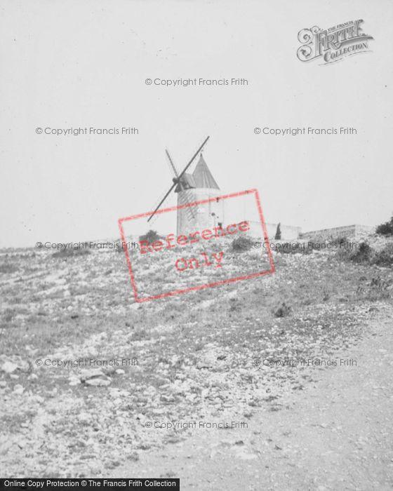 Photo of Les Baux De Provence, Daudet's Windmill 1939