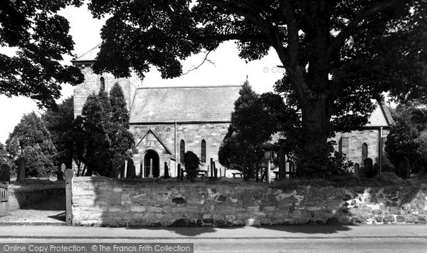 Photo of Lesbury, St Mary's Church c.1965