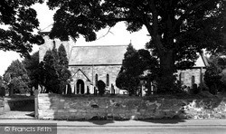 Lesbury, St Mary's Church c.1965