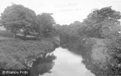 Lesbury, The River Aln c.1965