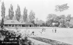 Letchworth, Bowling Club And Howard Gardens c.1955