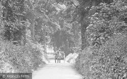 Letchworth, Cart In Letchworth Lane 1913