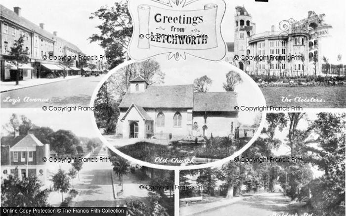 Photo of Letchworth, Composite c.1955