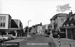Letchworth, Eastcheap c.1960, Letchworth Garden City