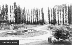 Letchworth, John Kennedy Memorial Gardens c.1965