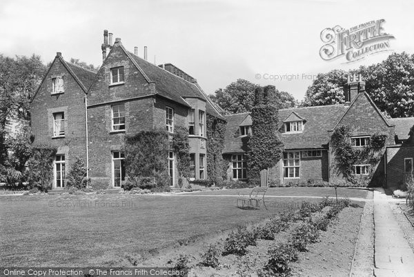 Photo of Letchworth, Letchworth Hall Hotel 1922