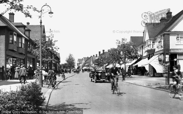 Photo of Letchworth, Leys Avenue 1922