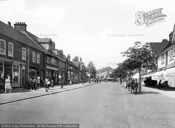 Photo of Letchworth, Leys Avenue 1924