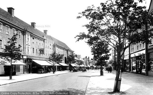 Photo of Letchworth, Leys Avenue 1925