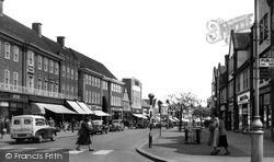Letchworth, Leys Avenue 1955