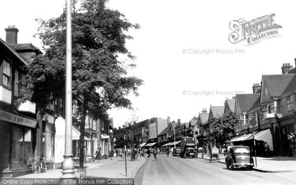 Photo of Letchworth, Leys Avenue c.1950