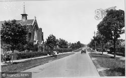 Letchworth, Norton Way 1922, Letchworth Garden City