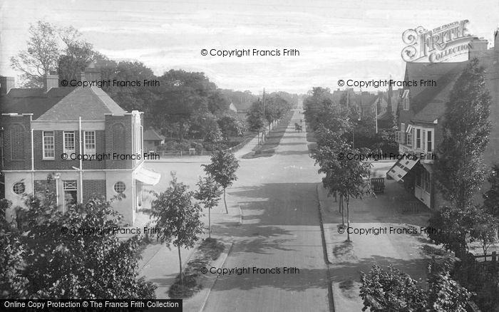 Photo of Letchworth, Norton Way, South 1924