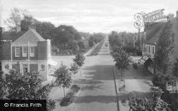 Letchworth, Norton Way, South 1924