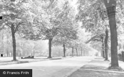 Letchworth, Norton Way South c.1955