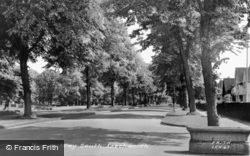 Letchworth, Norton Way South c.1955, Letchworth Garden City