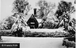 Letchworth, Snow Scene c.1955