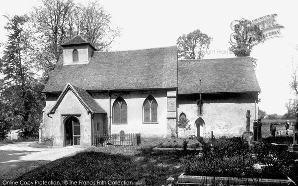 Photo of Letchworth, St Mary's Church 1922