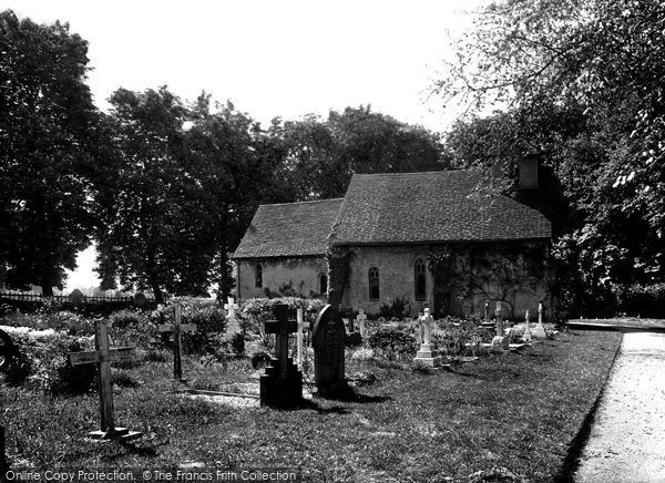 Photo of Letchworth, St Mary's Church 1924
