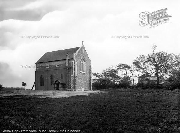 Photo of Letchworth, St Paul's Church 1924