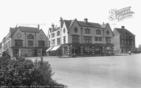 Photo of Letchworth, Station Place 1922