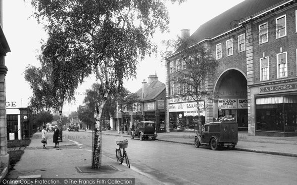 Photo of Letchworth, Station Road 1931