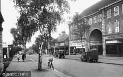 Letchworth, Station Road 1931
