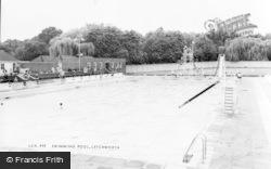 Letchworth, Swimming Pool c.1965