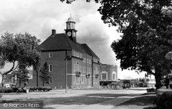 Letchworth, The Council Offices c.1950