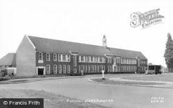 Letchworth, The Mixed Grammar School c.1955
