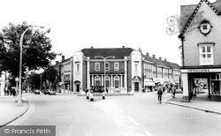 Letchworth, The Square c.1965, Letchworth Garden City
