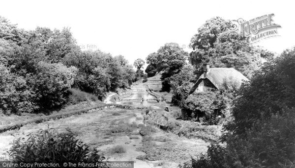 Photo of Letcombe Bassett, Watercress Beds And Arabella's Cottage c.1960