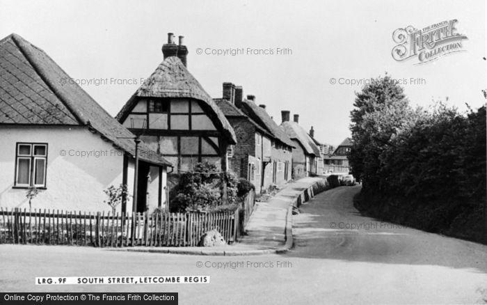 Photo of Letcombe Regis, South Street c.1955