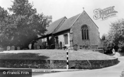 The Church c.1960, Letcombe Regis