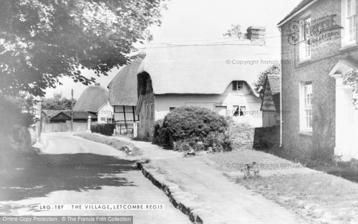 Photo of Letcombe Regis, The Village c.1960