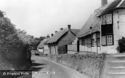 The Village c.1960, Letcombe Regis