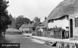 The Village Centre c.1955, Letcombe Regis