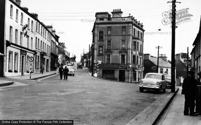 Photo of Letterkenny, Main Street And Gallagher's Hotel c.1960
