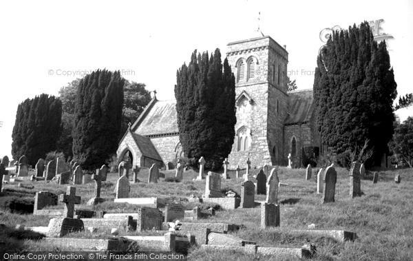Photo of Leusdon, Church Of St John The Baptist 1968