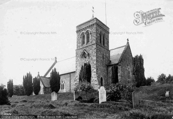 Photo of Leusdon, St John's Church 1890