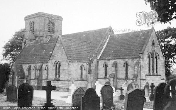 Photo of Leven, Holy Trinity Church c.1955