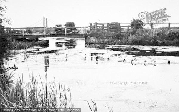 Photo of Leven, The Bridge c.1955