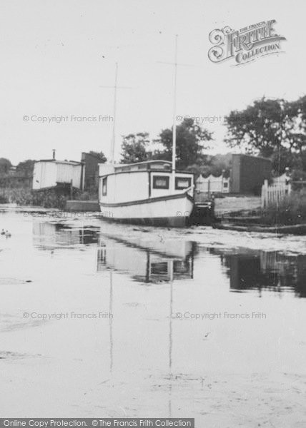 Photo of Leven, The Canal c.1955