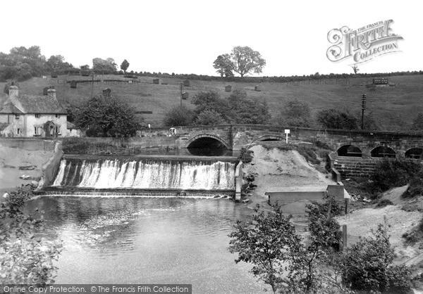 Photo of Levenbridge, The Bridge And Falls c.1955